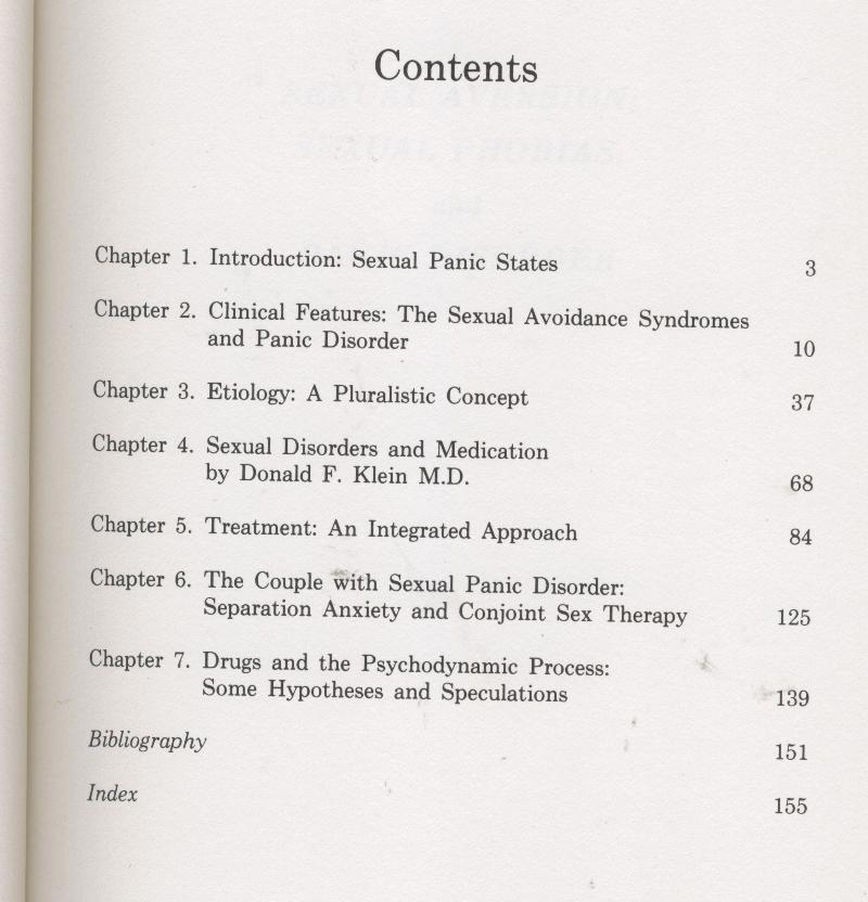 Kaplan - SEXUAL AVERSION, SEXUAL PHOBIAS & PANIC DISORDER