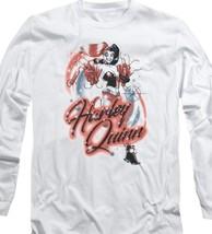 DC Comics Harley Quinn Dynamite long sleeve Tee Suicide Squad The Joker BM2848 image 2