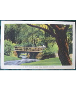 Vintage white border post card of High Park, Toronto - $6.00