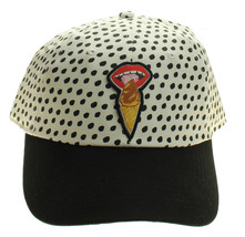 Vans Kendra Dandy Ice Cream Hat Adjustable StrapBack white Polka Dot Ska... - $15.79