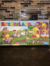 Kosherland Board Game Beginners Game For Jewish Child Ages 4-7 NEW 1985 ... - $19.80