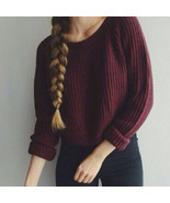 Autumn winter women sweaters and pullovers korean style long sleeve casu... - ₨1,599.89 INR+