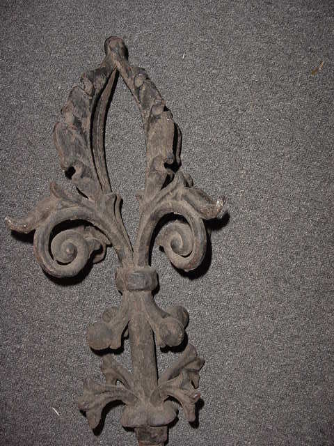 Cast Iron Victorian Roof Finial