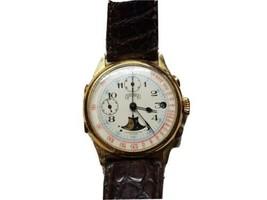 VINTAGE GHURKA LIMITED EDITION  #319/500 17 JEWEL SWISS CHRONOGRAPH WATC... - $2,202.47