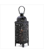 Giant-Size Lantern is 25 inch Black Table Medallion    - $25.49