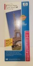 Premium Plus HP Photo Paper Inkjet 4x12 20 sheets Q6567A New Sealed 11.5 mil - $13.85