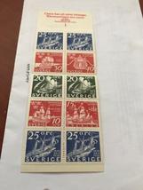 Sweden Ships booklet mnh 1966   stamps - $2.95