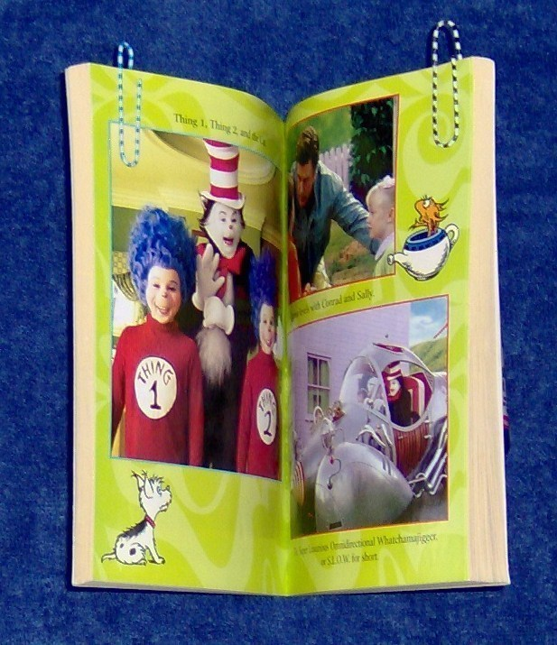 Dr. Seuss The Cat In The Hat Jim Thomas Softcover Official Movie Story Book
