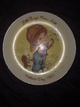 "Vintage Avon Mothers Day 5"" Collector Plate 1983 in German - $4.46"