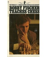Bobby Fischer Teaches Chess by Bobby Fischer Vintage Softcover Book 1972 - $1.99