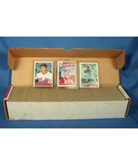 1985 TOPPS COMPLETE BASEBALL SET CLEMENS McGWIRE RC - $65.00
