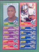 1989 Score Detroit Lions Football Set - $40.00