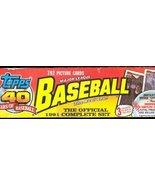 1991 Topps BASEBALL FACTORY SEALED Complete BOX SET - $29.95