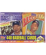 1996 TOPPS Complete Baseball Card Set MANTLE CEREAL BOX - $39.00