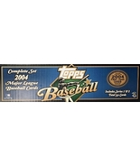 TOPPS 2004 OFFICIAL BASEBALL CARDS FACTORY COMPLETE SET - $35.00