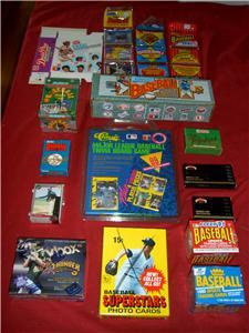 HUGE LOT OLD BASEBALL COLLECTION 1700 Cards 1980 AND UP
