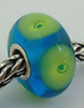 Authentic Trollbeads Caribbean Bead Charm 61192, New - $23.75