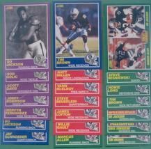 1989 Score Los Angeles Raiders Football Team Set - $12.00