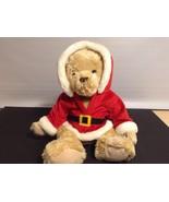 "Fannie May Fanny Farmer Laura Santa Bear 17.5"" Tall plush Stuffed Animal... - $12.89"