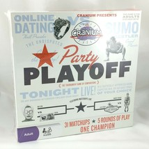 Cranium Party Playoff Game For 4 Or More Adult Players By Hasbro Factory Sealed - $19.95