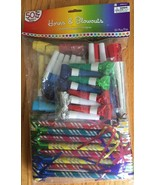 Mega Pack Horns and Blowouts 50ct - $4.00