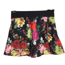Ted Baker Skirt 10 Large Y Girl Black A Line Skirt Butterfly Floral Pock... - $9.95