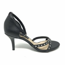 Steven By Steve Madden Womens Size 6 Vixen Sandals Black Strappy Studded Leather - $42.04