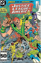 Justice League of America Comic Book #241, DC Comics 1985 NEAR MINT NEW ... - $5.94