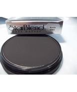 Mehron Black  Star Blend Cake Pancake Water Base Stage Makeup Professional - $12.86
