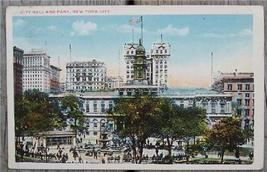 1910's-20's PC City Hall & Park, New York City - $4.00