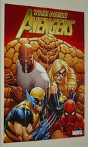 New Avengers Poster:Ms MARVEL/WOLVERINE/SPIDER-MAN - $40.00