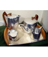 Picquot Ware 5 Piece Coffee Tea Serving Set - $92.99