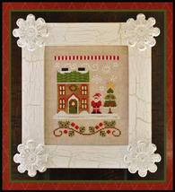 Santa's House Release #1 christmas cross stitch chart Country Cottage Needlework - $5.40
