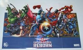 Captain America Reborn POSTER:SPIDER-MAN/THOR/AVENGERS/HULK - $40.00