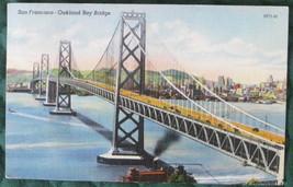 Colourpicture Post Card of SF-Oakland Bay Bridge - $6.00