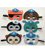 Octonauts Party Favors Kids Birthday Costume Pretend Play Masks - $15.00