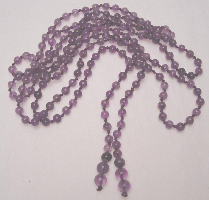 AMETHYST NECKLACE & EARRINGS