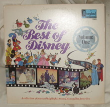 Walt Disney's The Best of Disney Volume one Album 1978 2502 - $8.99