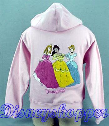 Princess pink hoodie 2