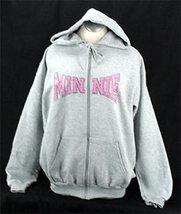 Minnie sketch zip hoodie 1 thumb200