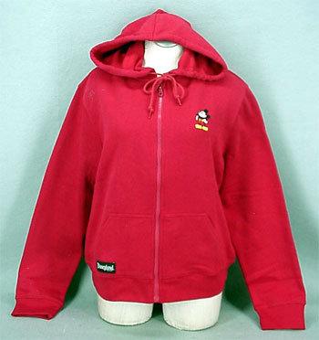 Mm red zip hoodie 1
