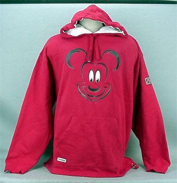 Mm big face red hoodie 1