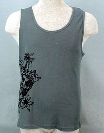 Pirate Princess Gray Tank Top - XXL - NWT