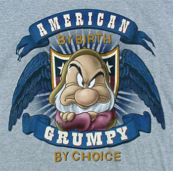 GRUMPY By Choice T-Shirt - Adult Small - NWT NEW