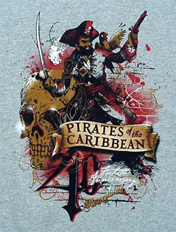 Pirates of the Caribbean 40th Anniversary T-Shirt XXL