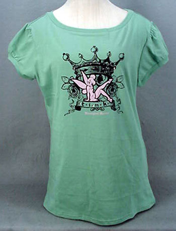 Tink bling green ts 2