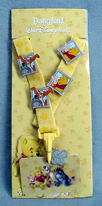 Winnie the Pooh Pin Trading Starter Set - NEW