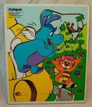 Vintage 1984 Playskool #234-04 Wuzzles Bumblelion Wooden Frame Tray Puzzle - $19.80
