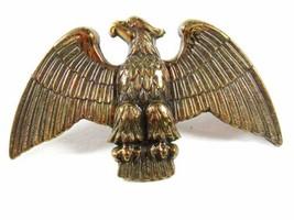 Vintage America Flag Topper Brass & Leather Eagle Unbranded 6116 - $24.74