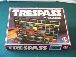 Trespass Strategy Game Lakeside 1979 Complete VGC - $12.50